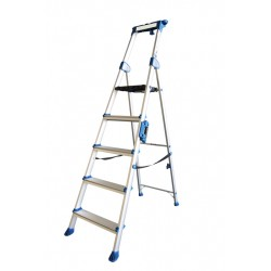 Stepladder One Sided not Coated 2 + 1 rungs